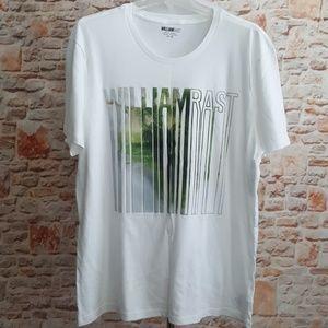 New William Rast Dripping Rast Graphic Tshirt